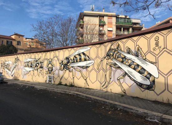 Lucamaleonte, NIDO DI VESPE, 2014,