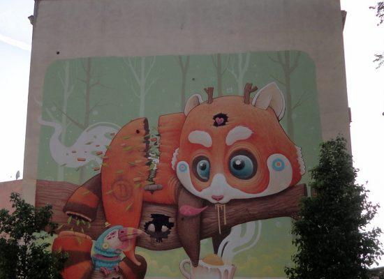 Dulk, RED PANDA, 2015