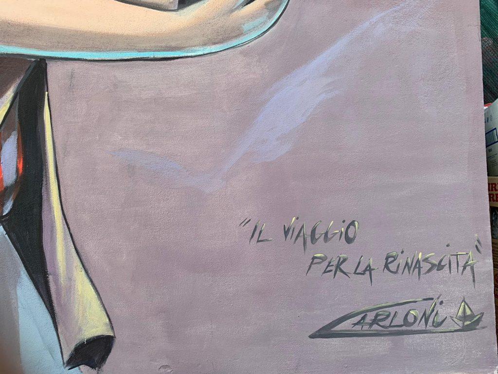 Alessandra Carloni, Il viaggio per la rinascita, Grisciano, 2019