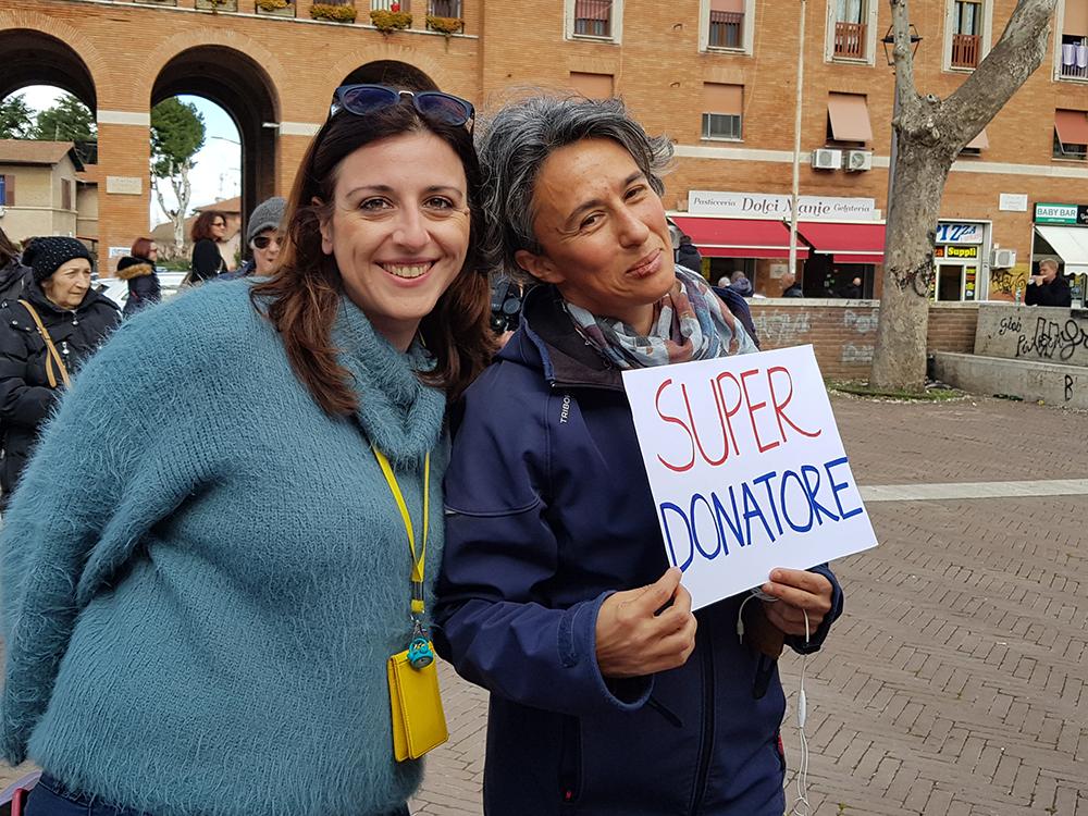 Sandra e la nostra Ilaria