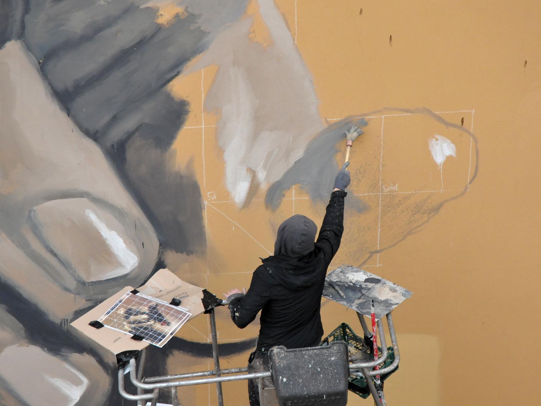 Gomez, Preghiera al tramonto, Muri Sicuri 4, 2020